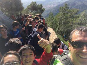 Noti excursió castell Alaró 2n ESO 2