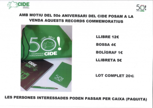 Venda de records 50è aniversari