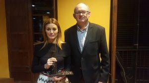 Premi COOP Malena Riudavets i Joan Perelló